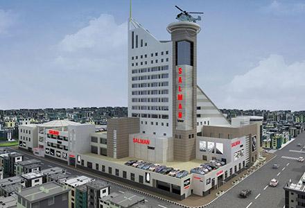 عقد قرارداد بیمه آتش سوزی برج سلمان